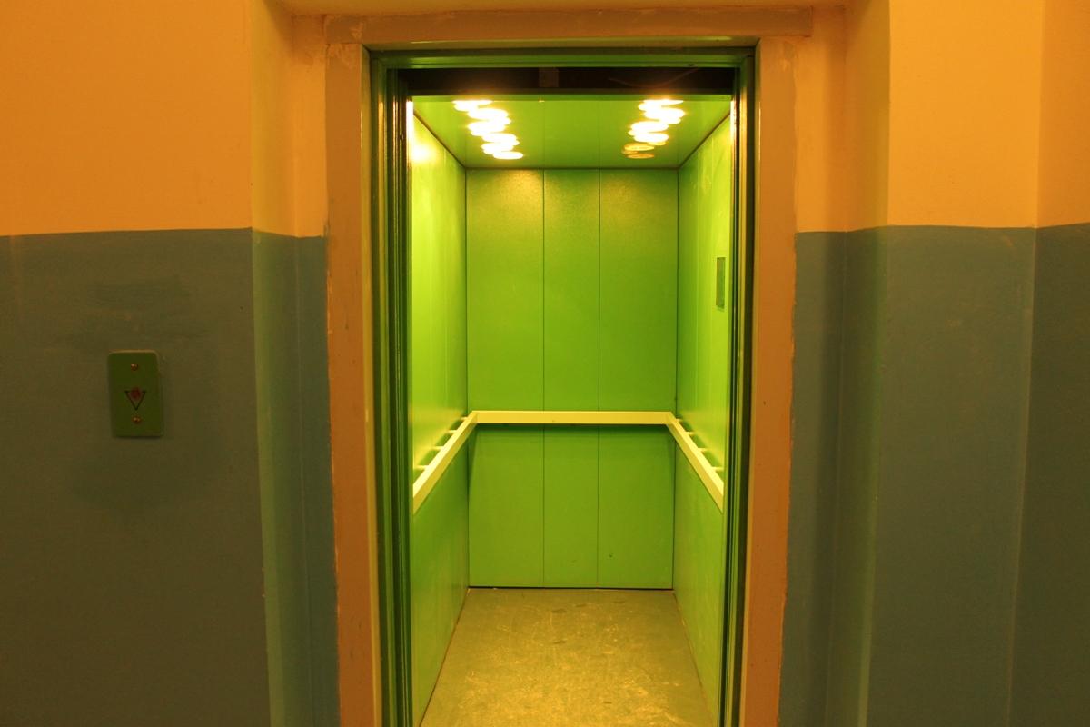 лифтовая площадка в подъезде
