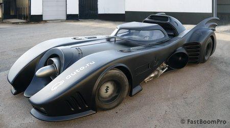 В России на продажу выставлен Бэтмобиль за 1 млн евро