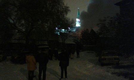 ВУфе наулице Тукаева сгорел дом