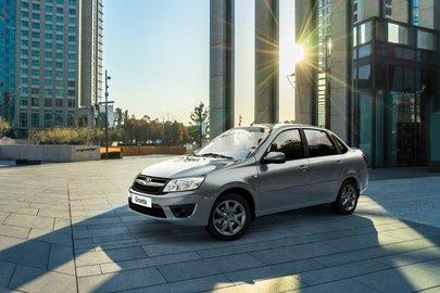 Новая версия седана Lada Granta City появится в продаже в марте