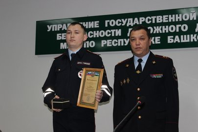 ВБашкирии работники ГИБДД спасли тонущего рыбака