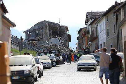 ВИталии зафиксировали новое землетрясение