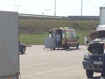 Фотокурьез в Уфе: «скорая помощь» перевозила гипсокартон