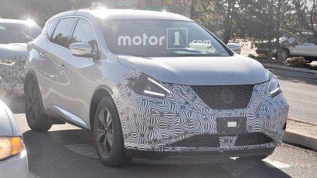 Появились шпионские снимки обновленного Nissan Murano