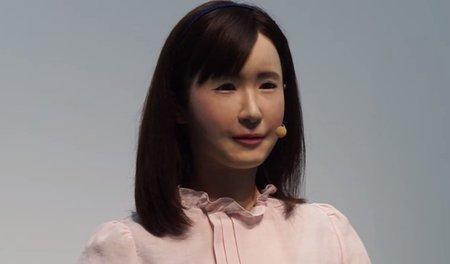Создатели человекоподобного феминоида'трудоустроили робота