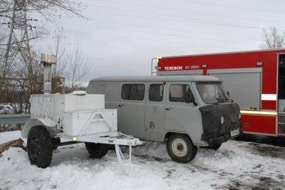 ВБашкирии натрассах развернуты мобильные пункты обогрева