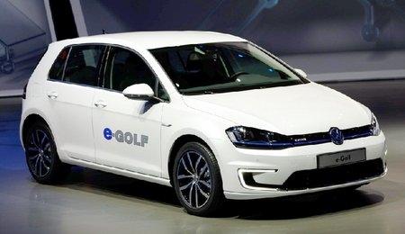 Электрический Golf представят встолице франции