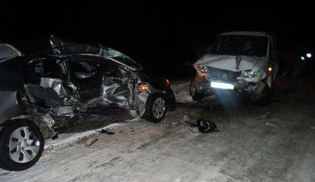 ВБашкирии столкнулись два автомобиля, один изводителей умер