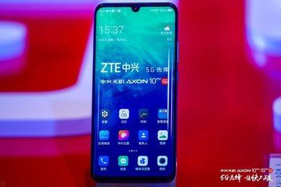 Стартовали продажи телефонов ZTE споддержкой 5G
