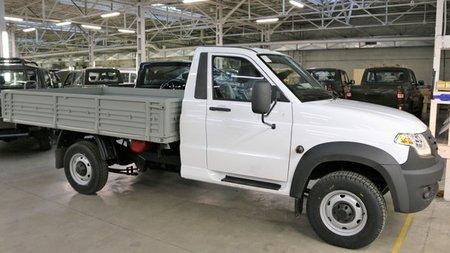 В реализацию поступил УАЗ Профи сгазобаллонным оборудованием