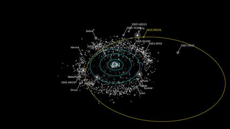 Найдена самая далекая планета Солнечной системы