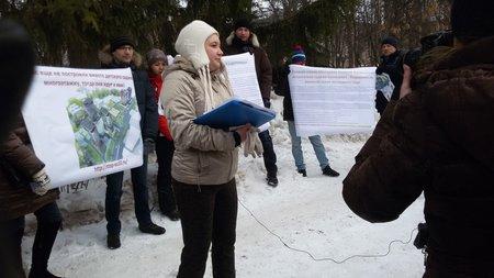 В Уфе после протеста жильцов приостановлено строительство жилого дома