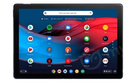 В Сети появились изображения планшета Google Pixel Slate