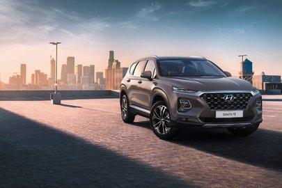 Стали известны российские цены на кроссовер Hyundai Santa Fe нового поколения