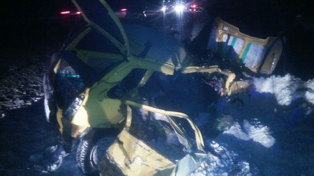 ВБашкирии «Ока» вылетела вкювет, шофёр умер
