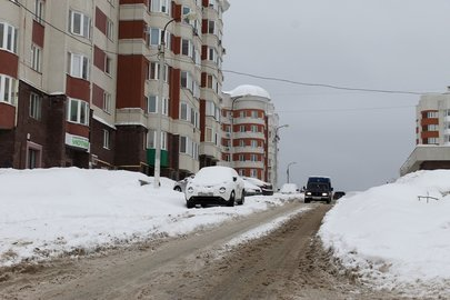 ВУфе снег будут вывозить только сцентральных улиц