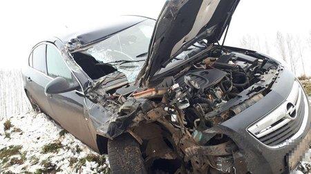 ВБашкирии Опель столкнулся с фургоном, есть пострадавшие