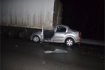 ВБашкирии иностранная машина въехала вКамАЗ: погибла супружеская пара