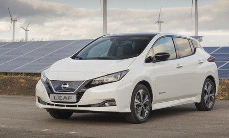 Названы европейские цены на обновленный электромобиль Nissan Leaf