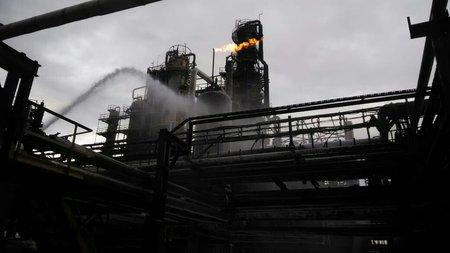 ВУфе нанефтеперерабатывающем заводе произошёл пожар