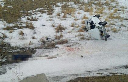 ВБашкирии в итоге опрокидывания ВАЗ-2107 умер мужчина