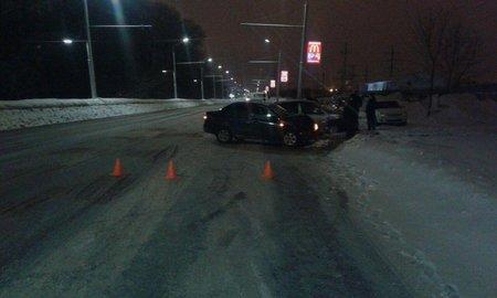 ВУфе встолкновении машин пострадали три человека