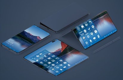 Будущий смартфон Microsoft Andromeda получит три экрана
