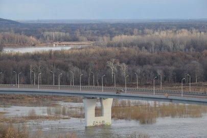 Уровень воды вреках рядом сУфой продолжает подниматься