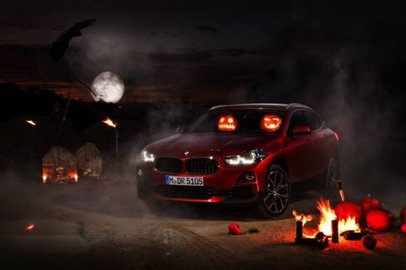 БМВ X2 получил дизайн для Хэллоуина