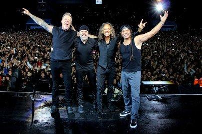 Группа Metallica выступит в столицеРФ летом 2019 года