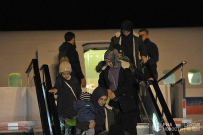 Женщину изБашкирии эвакуировали на отчизну  изСирии
