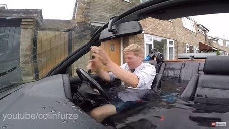 Британский изобретатель сделал из BMW SPA-машину