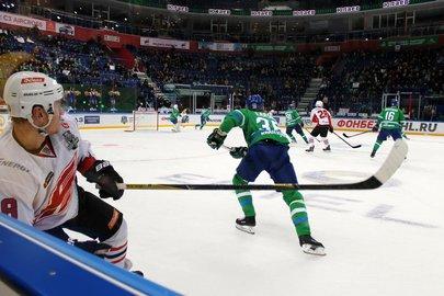 Первая играХК «Салават Юлаев» пройдёт навыезде