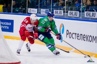 Захаркин: «Салават» не смог сделать напряжение наворота «Локомотива»