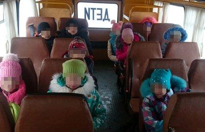 ВБашкирии шофёр без прав возил школьников науроки