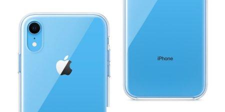Apple выпустит для iPhoneXR прозрачный силиконовый чехол за2500 руб.
